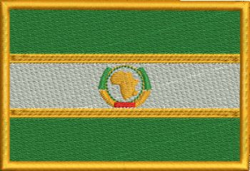 AFRICAN UNION Embroidered Badge